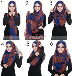 Splendid Hijab Tutorial 6 Easy Steps