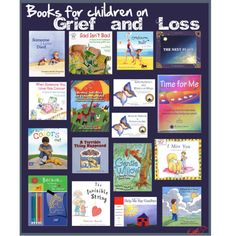 GRIEF AND LOSS: Resources for Kids. Children experience loss (grandparents, parents, or even siblings) and their ability to deal with these feelings are far from matured, and many adults -struggling with their own grief- find it hard to help children to adjust as well. These books and resources are specifically for children, on their level, to aid in their processing of those difficult and new feelings of sadness and loss. May you never need this, but if you do, you will be grateful.
