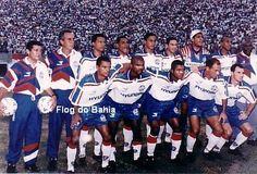 Time Campeão Baiano de 1998  Em pé: Marquinhos, Uéslei, Samuel, Branco, Jean e Nenê; Agachados: Bebeto Campos, Clébson, Róbson Luiz, Fábio Baiano e Éverton Luiz.