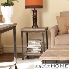 angelo:HOME Bowery End Table | Overstock.com
