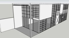 modo Architectural Modeling: The Charles Eames House in Sketchup - 3D Warehouse