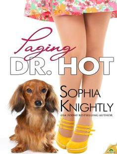 """Book Talk With Barbara Barth: """"Paging Dr. Hot"""" by Sophia Knightly Books To Read, My Books, Hot Doctor, Beach Reading, Love Is In The Air, Everything Changes, Dog Beach, Cozy Mysteries, Reading Material"""