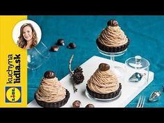 Gaštanový zákusok Mont Blanc   Veronika Bušová   Kuchyna Lidla - YouTube Baking Videos, Lidl, Youtube, Mont Blanc, Youtubers, Youtube Movies