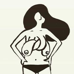 """Instagram: """"Artista © @robbert_illustration #pelaeldiente #comic #caricatura #viñeta #graphicdesign #funny…"""""""