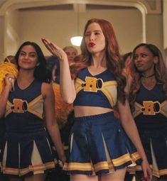 There's no such thing as normal. Stream the midseason finale on The CW App! Li… There's no such thing as normal. Stream the midseason finale on The CW App! Link in bio. Cheryl Blossom Riverdale, Riverdale Cheryl, Riverdale Netflix, Riverdale Cast, Cheerleader Costume, Cheerleading Outfits, Betty Cooper, Riverdale Fashion, Riverdale Characters