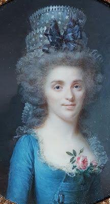 Portrait présumé de Mademoiselle de Calonne, 178590 Jean