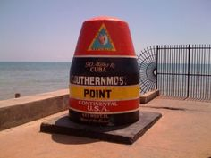 Southernmost point in the continental US.