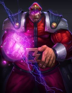 M. Bison - Street Fighter by Eric Yan