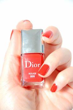 Boudoir mon beau boudoir- Blog beauté belge: Un vernis à tomber RED dingue - signé Dior