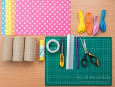 Lanza papel DIY 2
