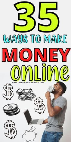 Are you looking to make money from home? Here are 35 totally legitimate ways that you can start earning an income from home. These online job opportunities are perfect for anyone looking to supplement their income during the current world situation, espcape their 9-5 or make a career change into the online digital world. Work From Home Jobs, Make Money From Home, Way To Make Money, Make Money Online, How To Make, Money Tips, Money Saving Tips, Online Job Opportunities, Grocery Savings Tips