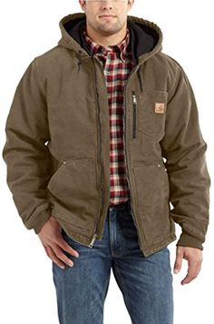 Carhartt Men's Big & Tall Chapman Sandstone Jacket,Light Brown,X-Large Tall Carhartt ++ You can get best price to buy this with big discount just for you.++