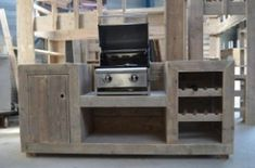 kitchen ideas – New Ideas Outdoor Kitchen Bars, Bbq Kitchen, Kitchen Decor, Diy Interior, Interior And Exterior, Patio, Backyard, Wood, Furniture