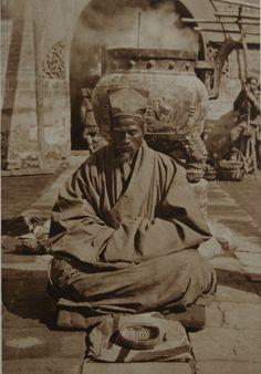 Meditation, China, 1920s
