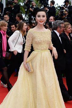 Fan Bingbing in Elie Saab at Cannes | Tom + Lorenzo