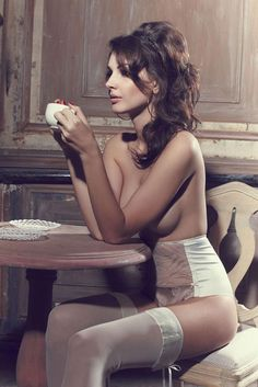 Les Jupons de Tess Elegant Provocation Lingerie Spring 2013