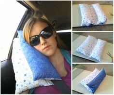 Cuscino da cintura di sicurezza (viaggio) Seat-belt Travel Pillow