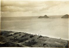 Lanikai...olden days--before all the houses(date unknown)   1920s-1930s possibly  ;-)