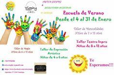 Escuelita de Verano - Artes Yiophy