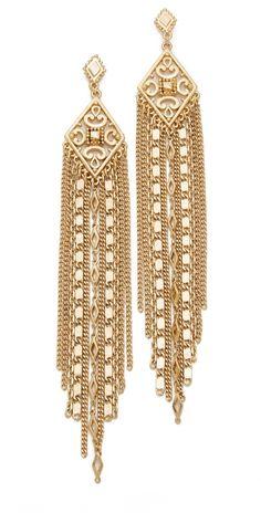 Capwell + Co. Golden Gala Earrings | SHOPBOP