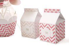 Milk Carton Party Favours