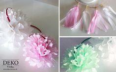 DIY Papier-Pompoms für Partydeko/Hochzeitsdeko Deko-Kitchen