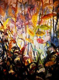 "Saatchi Art Artist Nada  Sucur Jovanovic; Painting, ""Shee is coming"" #art"