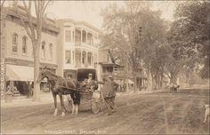 RP: Main Street [dirt], SALEM , New York , PU-1913