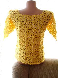 Tapa del ganchillo ropa de mujer de ganchillo por crochets4world