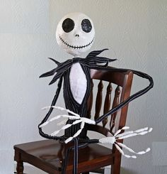 DIY for a  Life Size Jack the Pumpkin King