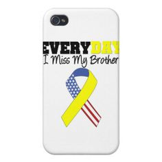 Everyday I Miss My Brother Military Covers For iPhone 4 online after you search a lot for where to buyShoppingReview on the This website by click the button below...