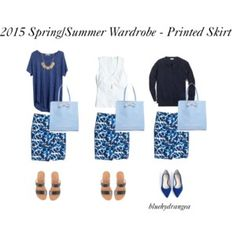 Spring/Summer Wardrobe - Printed Skirt