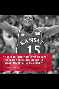Agreed. He was so clutch that he saved our chance to win the 2008 champion with a last second 3 Kansas Jayhawks Basketball, Kansas Basketball, Basketball History, Basketball Players, Kansas City Chiefs, Go Ku, University Of Kansas, Missouri, March Madness
