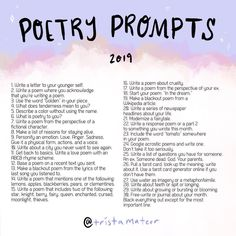 Its that time again! Tomorrow marks the beginning of National Poetry Month! Ill be doing a slew of giveaways (one of which is running on Poem Writing Prompts, Writing Prompts Poetry, Book Writing Tips, Writing Skills, Letter Writing, Paper Journal, Art Journal Pages, Poetry Journal, Journal Ideas