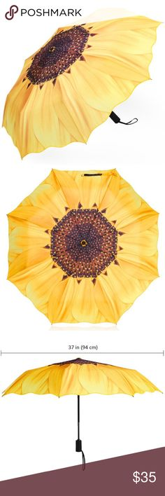 ❗️1 HOUR SALE❗️ Yellow Sunflower Umbrella Brand new.  Accessories Umbrellas