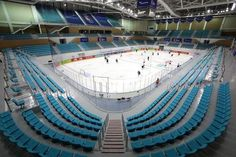 PyeongChang Winter Olympics 2018 Venues   Photo 14   TMZ.com Pyeongchang 2018 Winter Olympics, Hockey, Korea, Winter Olympic Games, Pictures, Field Hockey, Korean, Ice Hockey