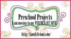 Unique Preschool Projects