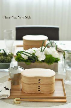 Table Decorations / Table Settings スタイルのある暮らし It's FLORAL NEW YORK Style ~暮らしをセンスアップするフラワースタイリングで毎日を心豊かに、心地よく~