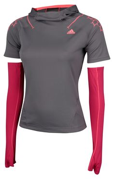 Supernova Riot Hooded Tee- Via running Room  For those chilly/windy/rainy mornings