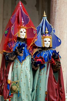 Colorful headdresses from carnival of Venice 2011 | Flickr - Photo Sharing!