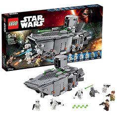 Sale Preis: LEGO 75103 Star Wars  - First Order Transporter. Gutscheine & Coole Geschenke für Frauen, Männer & Freunde. Kaufen auf http://coolegeschenkideen.de/lego-75103-star-wars-first-order-transporter  #Geschenke #Weihnachtsgeschenke #Geschenkideen #Geburtstagsgeschenk #Amazon