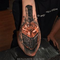 This official hard liquor of the south... JD. Tattoo by Benjamin Laukis #inked…