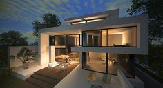Luxus Stadtvilla modernes Design