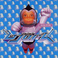 He encontrado Army Of Me de Björk con Shazam, escúchalo: http://www.shazam.com/discover/track/250984
