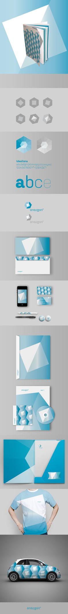 Energon – Brand Identity by Mimmo Manes, via Behance