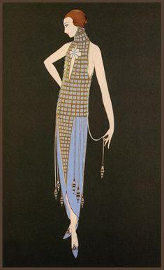 art art deco Details about Erte (Romain De Art Nouveau Poster, Poster Art, Art Deco Posters, Vintage Posters, Design Poster, Art Deco Illustration, Moda Vintage, Vintage Art, Style Année 20