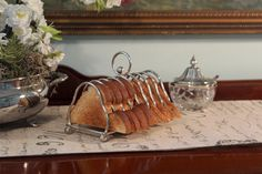 There is just something about toast racks....I love them!