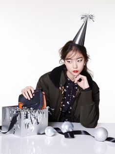 Kim Ye Rim by Jung Ki Rock for Singles Korea Dec 2015