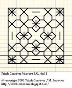15 of 15 Sampler Blackwork-schemes (p. 49) | Learning Crafts is facilisimo.com