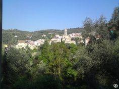 View of Montegrazie, Italy